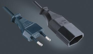 欧式两芯延长线