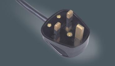 英国三芯装配插头