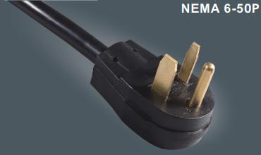 美国6-50P插头电源线