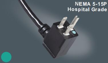 美国UL医用插头电源线