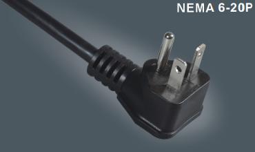 美式三芯电源插头线