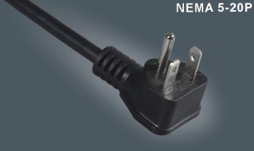 美国UL插头电源线5-20P