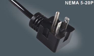 美国三芯插头电源线