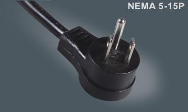 美规三芯插头电源线