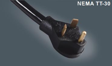 美国UL三芯插头电源线