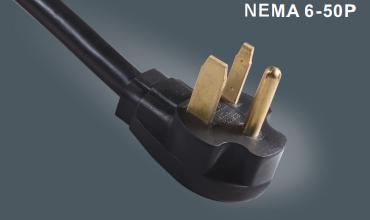 美国6-50P电源插头线