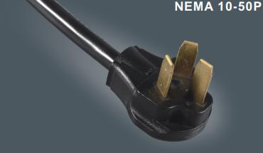 美式三芯干燥插头