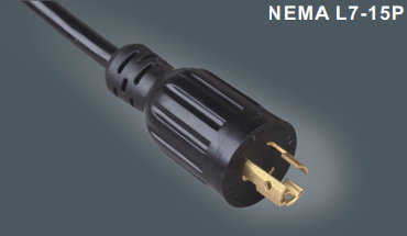 美国带锁插头电源线