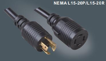 美国标准一代所延长线L15-20P/L15-20R