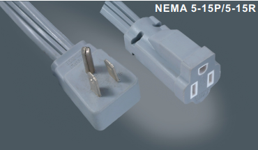 美国标准延长线插头插座