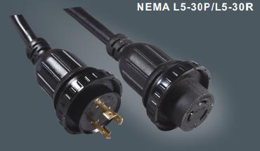 美国标准延长线L5-30P/L5-30R
