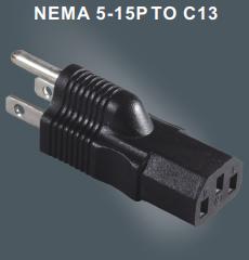美国三芯插头转换器